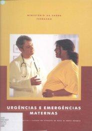 Urgências e Emergências Maternas - BVS Ministério da Saúde