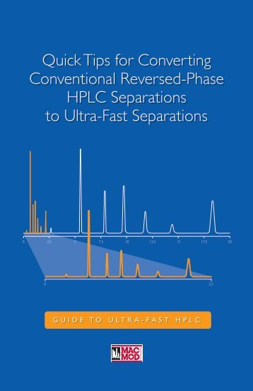 Quick Tips for Converting Conventional Reversed-Phase HPLC ...