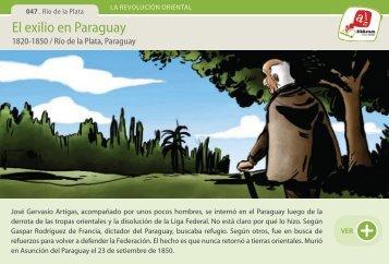 El exilio en Paraguay - Manosanta