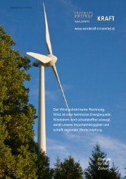 Energie für die Zukunft - Windkraft Innviertel