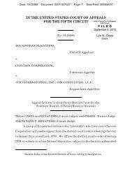 Ecuadorian Plaintiffs v. Chevron Corporation - The Appellate Record