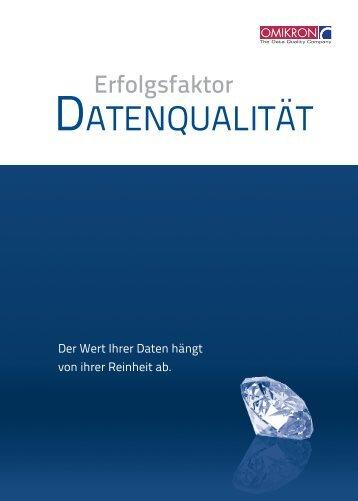 Erfolgsfaktor Datenqualität