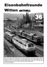Download als PDF (3,6 MB) - Eisenbahnfreunde Witten