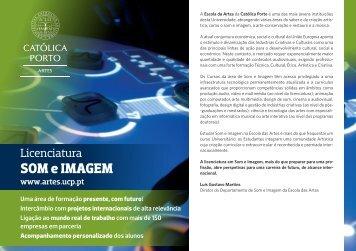 Folheto - Universidade Católica Portuguesa