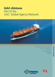 GAC-Alstons Part of the GAC Global Agency Network