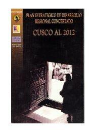 Plan Estratégico de Desarrollo Regional Concertado Cusco al 2012
