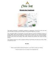 Miracle Eye Treatment - Kurtz-Ahlers & Associates