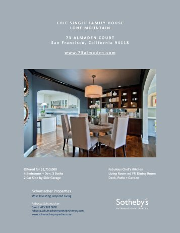 Brochure - Schumacher Properties