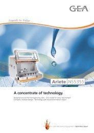GNS Ariete5XL Flash Stream - GEA Niro Soavi