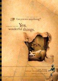 wonderful things. - Las Vegas Natural History Museum