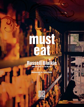 Must Eat - UWA Publishing - The University of Western Australia