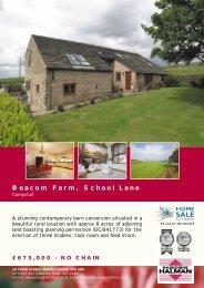 Beacom Farm, School Lane