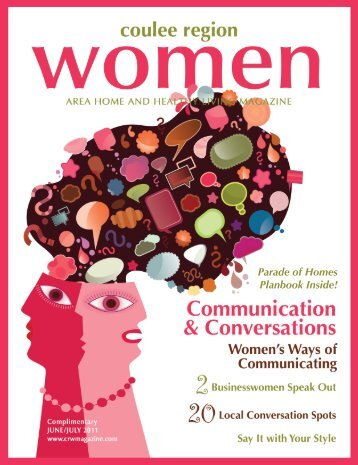 June/July - Coulee Region Women's Magazine