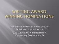 Writing Award Winning Nominations(1).