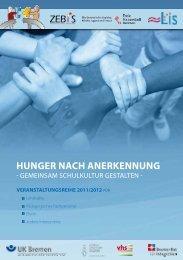 hunger nach anerkennung - Unfallkasse Freie Hansestadt Bremen