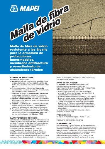 Malla de fibra de vidrio Malla de fibra de vidrio