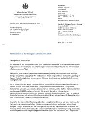 offenen Brief - EurActiv.de