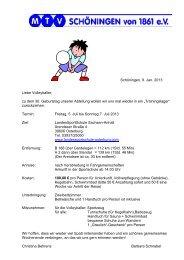Informationen zum Trainingslager in der Landessportschule ...