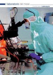 Il laboratorio del mese - Promedianet.it
