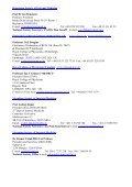 EFIM Member Societies Presidents & Secretaries of the 33 ... - FDIME - Page 6