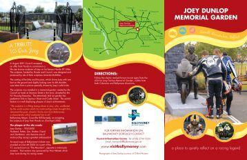 Joey Dunlop Memorial Garden Brochure - Visit Ballymoney