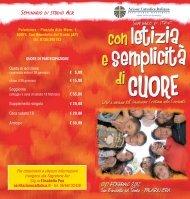 Depliant - Azione Cattolica Italiana