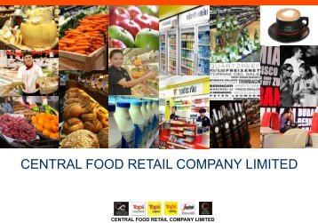 CENTRAL FOOD RETAIL COMPANY LIMITED - Asiafruit Congress