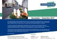 gss newsletter 28 2013 Dezember versand.pdf - Georg-Schwarz ...