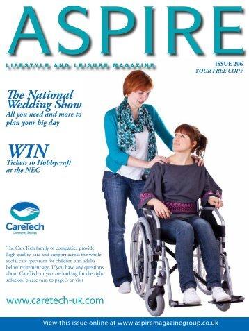 The National Wedding Show - Aspire Magazine