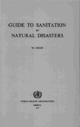 guide to sanitation natural disasters - Extranet Systems - World ...