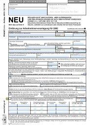 L1 - Erklärung zur Arbeitnehmerveranlagung für 2002 - (Formular)