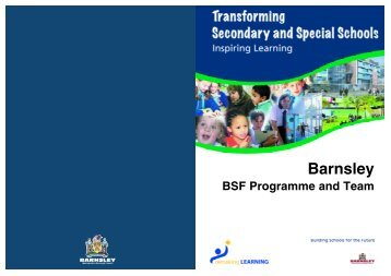 BSF team booklet - Barnsley Council Online