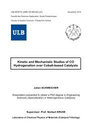 Kinetic and Mechanistic Studies of CO Hydrogenation over Cobalt ...