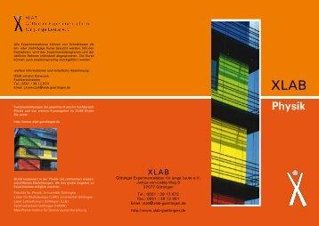 Physik - XLAB
