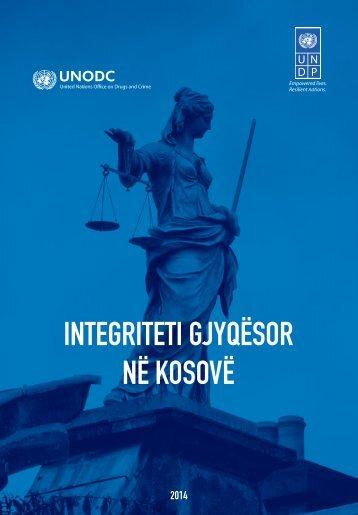 UNDP UNODC Report on Judicial Integrity_Shqip