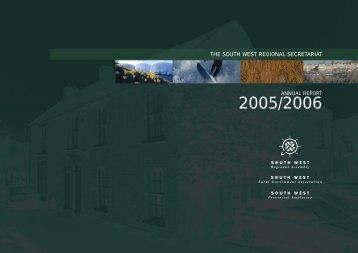 Annual Report 2005-2006 - PDF format - South West Councils