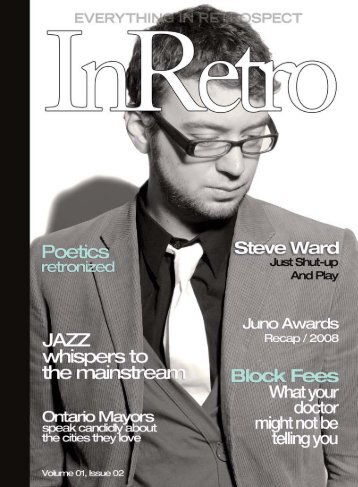 National Jazz Awards - InRetro Magazine + The InRetro Radio ...