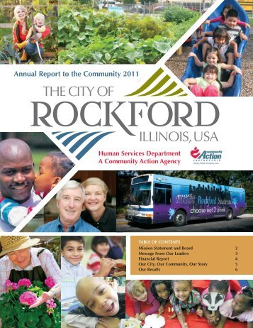Annual Report to the Community 2011 - the City of Rockford