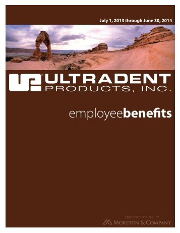 employeebenefits - Ultradent Products, Inc.