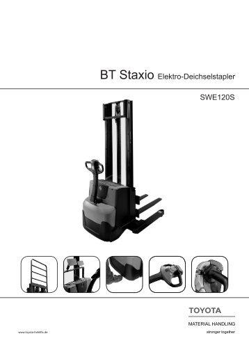 SWE120S BT Staxio Elektro-Deichselstapler