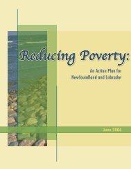 Reducing Poverty: An Action Plan for Newfoundland and Labrador