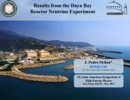 Recent results from Daya Bay - ictp – saifr