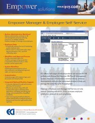 Manager and Employee Self Service - HRIS