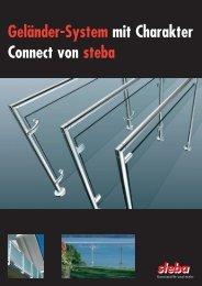 Geländer-System mit Charakter Connect von steba - Gate24.ch
