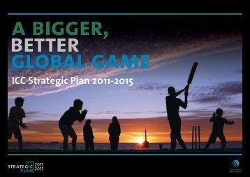 ICC Strategic Plan 2011-2015