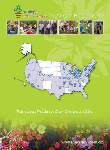 Annual Report 2010 - America in Bloom