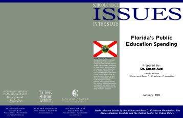 Florida's Public Education Spending - 2006 - FreedomsAdvocate.com
