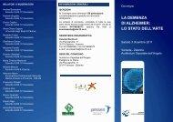 la demenza di alzheimer - Azienda Ulss 12 veneziana