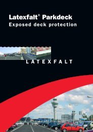 Latexfalt® Parkdeck Exposed deck protection - Lane Roofing