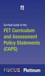 Survival Guide to the FET CAPS - Maskew Miller Longman